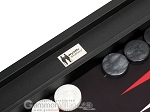 picture of Wycliffe Brothers Tournament Backgammon Set - Black-Black (8 of 12)
