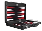 picture of Wycliffe Brothers® Tournament Backgammon Set - Black with Black Field - Gen I (10 of 12)