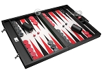 picture of Wycliffe Brothers® Tournament Backgammon Set - Black with Grey Field - Gen I (2 of 12)