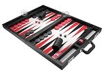 picture of Wycliffe Brothers® Tournament Backgammon Set - Black with Grey Field - Gen I (3 of 12)