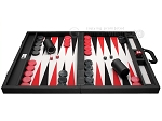 picture of Wycliffe Brothers® Tournament Backgammon Set - Black with Grey Field - Gen I (4 of 12)