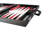 picture of Wycliffe Brothers® Tournament Backgammon Set - Black-Grey (6 of 12)