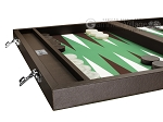 picture of Wycliffe Brothers Tournament Backgammon Set - Brown-Green (5 of 12)