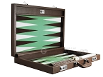 picture of Wycliffe Brothers® Tournament Backgammon Set - Brown-Green (10 of 12)