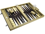 picture of Wycliffe Brothers® Tournament Backgammon Set - Beige with Black Field - Gen I (2 of 12)