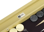 picture of Wycliffe Brothers® Tournament Backgammon Set - Beige (8 of 12)