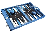 picture of Wycliffe Brothers Tournament Backgammon Set - Turquoise Croco (2 of 12)