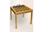 4280 - Wooden Chess / Backgammon Table - Item: 4071
