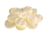 Backgammon Checkers - Pearled Acrylic - Ivory (1 1/2 in. Dia.) - Roll of 15