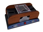 2 Deck Wooden Deluxe Card Shuffler - Item: 2604