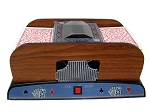 picture of 2 Deck Wooden Deluxe Card Shuffler (3 of 6)