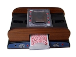picture of 2 Deck Wooden Deluxe Card Shuffler (4 of 6)