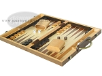 picture of 15-inch Wood Backgammon Set - Walnut (3 of 11)