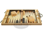 picture of 15-inch Wood Backgammon Set - Walnut (4 of 11)