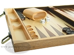 picture of 15-inch Wood Backgammon Set - Walnut (5 of 11)