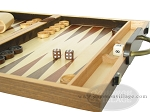 picture of 15-inch Wood Backgammon Set - Walnut (6 of 11)