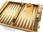 picture of 15-inch Wood Backgammon Set - Walnut (9 of 11)