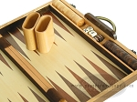 picture of 15-inch Wood Backgammon Set - Walnut (8 of 11)