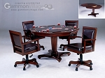Ambassador Game Table Set (Table + 4 chairs) - Item: 2548