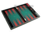 picture of Hector Saxe Faux Leather Travel Backgammon Set - Green Field (10 of 12)