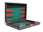 picture of Hector Saxe Faux Leather Travel Backgammon Set - Green Field (11 of 12)