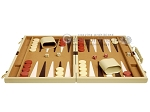 picture of 15-inch Deluxe Backgammon Set - Camel (4 of 11)