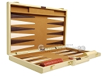 picture of 15-inch Deluxe Backgammon Set - Camel (10 of 11)