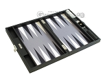 picture of Hector Saxe Leatherette Travel Backgammon Set - Black (10 of 12)