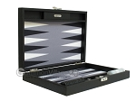 picture of Hector Saxe Leatherette Travel Backgammon Set - Black (11 of 12)