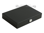 picture of Hector Saxe Leatherette Travel Backgammon Set - Black (12 of 12)