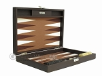 picture of Hector Saxe Leatherette Travel Backgammon Set - Chocolate (11 of 12)