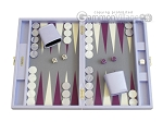 Hector Saxe Leatherette Travel Backgammon Set - Parma - Item: 2502