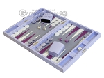 picture of Hector Saxe Leatherette Travel Backgammon Set - Parma (3 of 12)