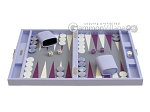 picture of Hector Saxe Leatherette Travel Backgammon Set - Parma (4 of 12)