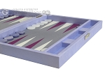 picture of Hector Saxe Leatherette Travel Backgammon Set - Parma (6 of 12)