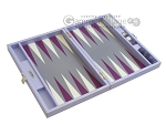 picture of Hector Saxe Leatherette Travel Backgammon Set - Parma (10 of 12)