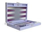 picture of Hector Saxe Leatherette Travel Backgammon Set - Parma (11 of 12)