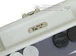 picture of Hector Saxe Leatherette Travel Backgammon Set - White (7 of 12)
