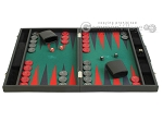 picture of Hector Saxe Faux Leather Backgammon Set - Medium - Green Field (4 of 12)