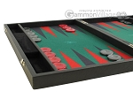 picture of Hector Saxe Faux Leather Backgammon Set - Medium - Green Field (5 of 12)