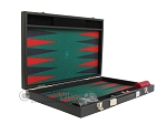 picture of Hector Saxe Faux Leather Backgammon Set - Medium - Green Field (10 of 12)