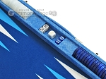 picture of Hector Saxe Faux Snake Backgammon Set - Medium - Light Blue (9 of 12)