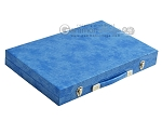 picture of Hector Saxe Faux Snake Backgammon Set - Medium - Light Blue (11 of 12)