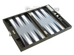 picture of Hector Saxe Faux Croco Travel Backgammon Set - Black (10 of 12)