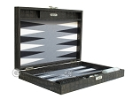 picture of Hector Saxe Faux Croco Travel Backgammon Set - Black (11 of 12)