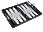 picture of Hector Saxe Python Leather Travel Backgammon Set - Black (10 of 12)