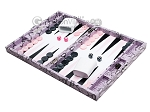 picture of Hector Saxe Python Leather Travel Backgammon Set - Parma (3 of 12)