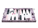 picture of Hector Saxe Python Leather Travel Backgammon Set - Parma (4 of 12)