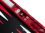 picture of Hector Saxe Python Leather Travel Backgammon Set - Red (9 of 12)