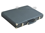 picture of Hector Saxe Carbon Linen/Felt Backgammon Set - Grey (11 of 12)